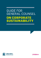 Guide for General Counsel on Corporate Sustainability